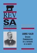 Gabriel y Galán en la memoria de un juglar salmantino: Manuel Díaz Luis