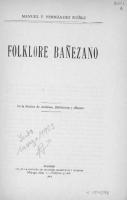 Folklore Bañezano