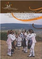 Las danzas de paloteo y las representaciones teatrales en los pueblos de La Cabrera