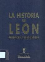 Introducción [a la historia de León: Prehistoria y Edad Antigua]