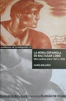 La hora española de Baltasar Lobo: Obra gráfica entre 1927 y 1939