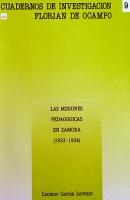 Las misiones pedagógicas en Zamora (1933-1934)
