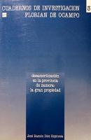 Desamortización en la provincia de Zamora: la gran propiedad