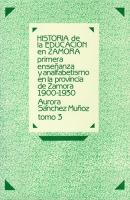 Primera enseñanza y analfabetismo en la provincia de Zamora: 1900-1930