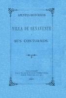 Apuntes históricos de la villa de Benavente y sus contornos